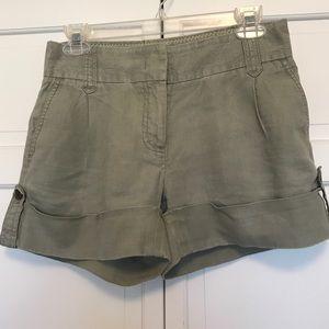 "J. Crew ""city fit"" shorts"